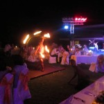Fire Dancers at Wedding