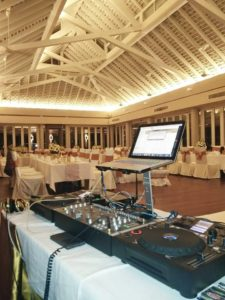 Some of our DJ equipment. Ready to Party!